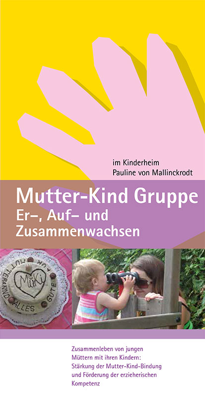Titel Flyer Mutter-Kind-Gruppe